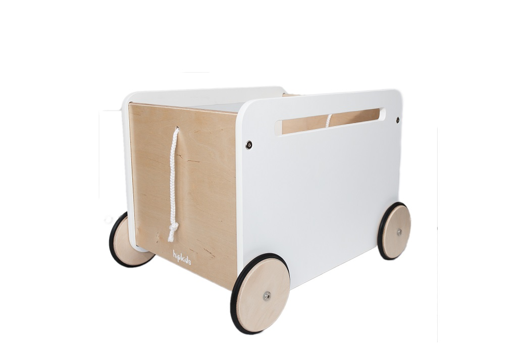 Large Wooden Toy Box