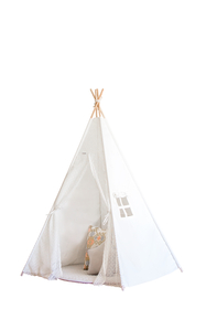 cattywampus lace teepee