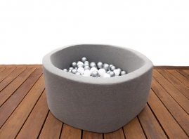 Dimensions:  40cm High x 90cm Diameter.   Age Suitability: 1 year +  Suitable: Indoor Use